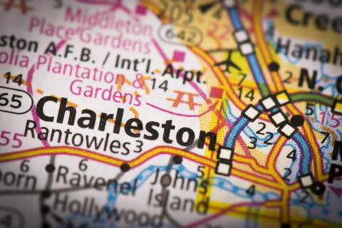 Charleston WV City Map Dumpster Rentals